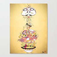 To Live Canvas Print