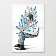 Written Canvas Print