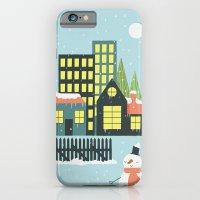 Christmas Village iPhone 6 Slim Case