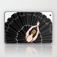 Black Ballerina Laptop & iPad Skin