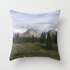 Molas Lake Throw Pillow