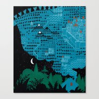 Russian Folk Tales - Go … Canvas Print