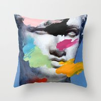 Composition 496 Throw Pillow
