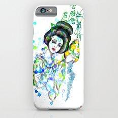 Aquarius, The Freedom Lover: Jan 21 - Feb 19 / Original gouache on paper Slim Case iPhone 6s