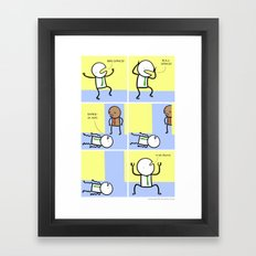 Antics #070 - truly a rare talent Framed Art Print