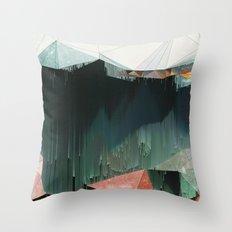 BRKNRFLCTN Throw Pillow