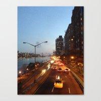 FDR Overpass Canvas Print