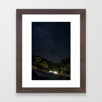 Chimaera and the Galaxy Framed Art Print