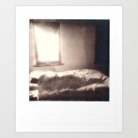 Harry Sleeping Art Print