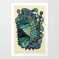 The Wind That Rocks The … Art Print