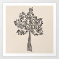 UPC Tree Art Print