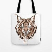 Iberian Lynx: Drifting Tote Bag