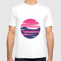 Kintamani Mens Fitted Tee White SMALL