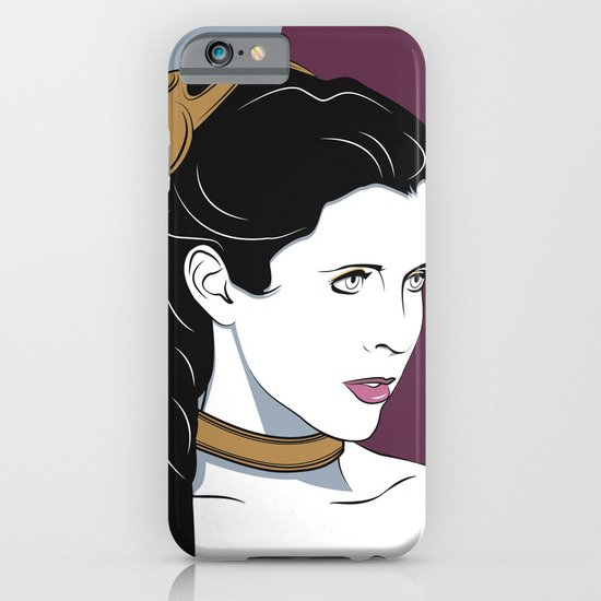 80s Princess Leia Slave Girl iPhone & iPod Case