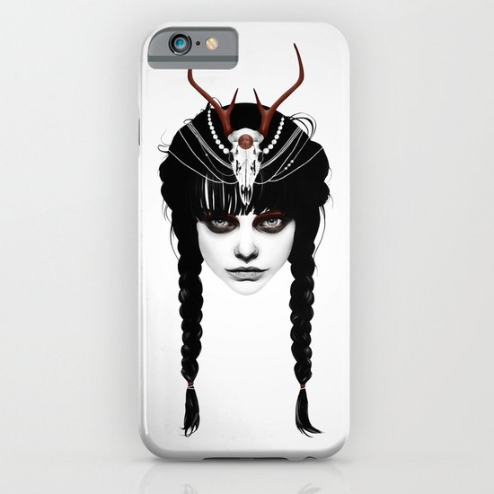 Wakeful Warrior - In Red iPhone & iPod Case