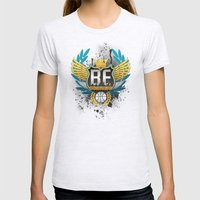 Freestyle Design Steuf Womens Fitted Tee Ash Grey SMALL