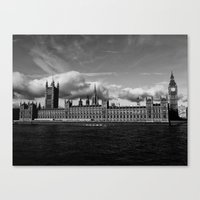 Kingdom for the Clouds Canvas Print