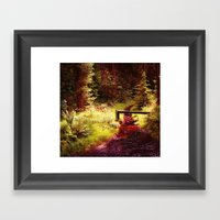 Forest etc. Framed Art Print