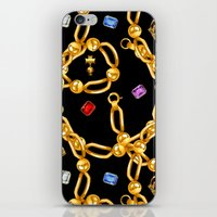 gold party 3 iPhone & iPod Skin