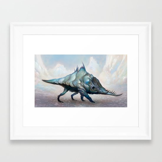 Yeyudo Bull Framed Art Print