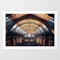London Natural History M… Art Print
