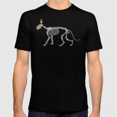 lion king Mens Fitted Tee Black SMALL