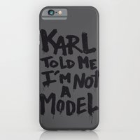 iPhone & iPod Case featuring Karl told me... by Ludovic Jacqz