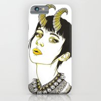 iPhone & iPod Case featuring Capricorn by Cannibal Malabar