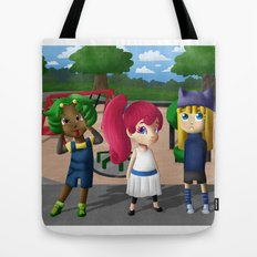 At the Playground Tote Bag