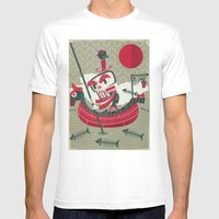 Calaverita Mens Fitted Tee White SMALL