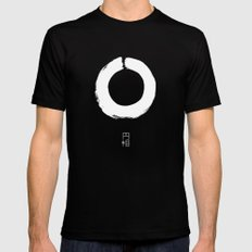 ENSO IN JAPAN Mens Fitted Tee Black SMALL