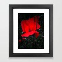 King Of Fields Framed Art Print
