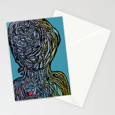 Windower Teal Stationery Cards