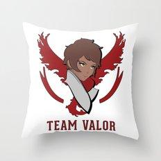 Team Valor Throw Pillow