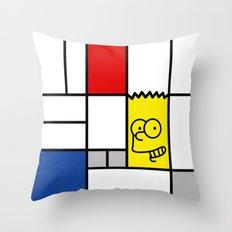 Art Simpson Throw Pillow