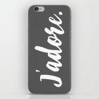 j'adore iPhone & iPod Skin