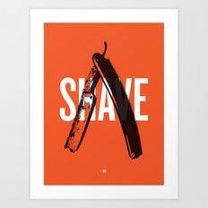 Barbershop Design Ethos / Shave Art Print