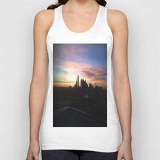 Sunset Skyline Unisex Tank Top
