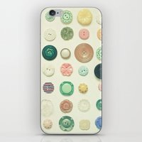 The Button Collection iPhone & iPod Skin