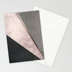 Modern Geometric Composition  Stationery Cards