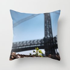 A Tree Grows In Brooklyn Throw Pillow