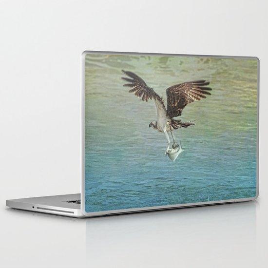 I Finally Caught It Laptop & iPad Skin