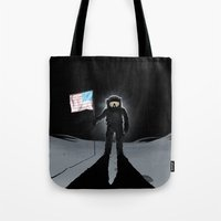 Lunar Walk Tote Bag