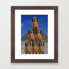 Emulate Framed Art Print