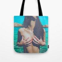 Sexy beach Tote Bag