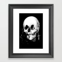 All Is Vanity: Halloween… Framed Art Print
