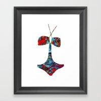 SWIM2 Framed Art Print