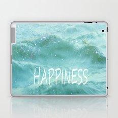 HAPPINESS. Vintage beach Laptop & iPad Skin