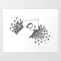 Our Little World Art Print