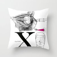 Etude - Cyclops Throw Pillow